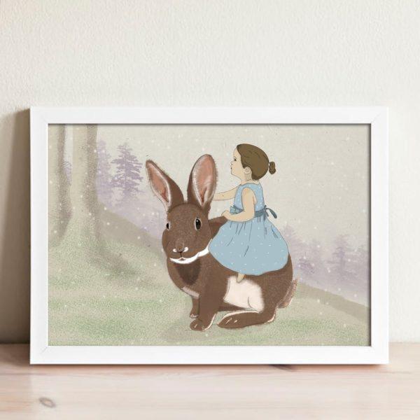 איור טרמפ על ארנב