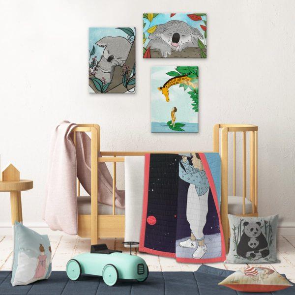 Kids wall decor koala bear