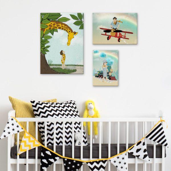 Toddler boy room decor