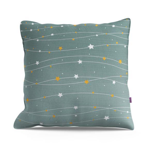 כרית נוי- דגם כוכבים