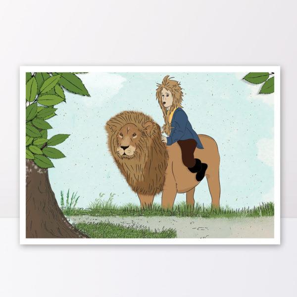 איור דב אריה