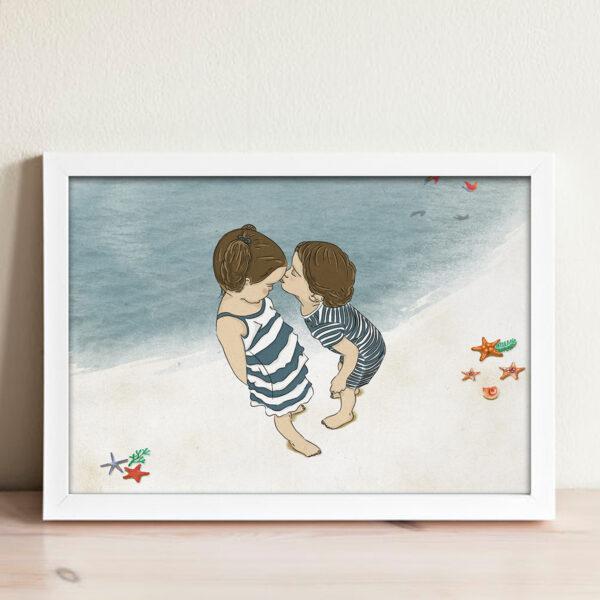 ציור יום בים