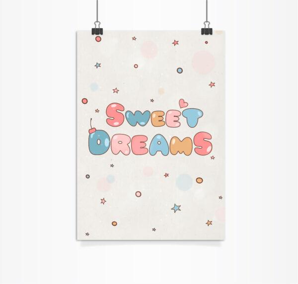 פוסטר sweet dreams