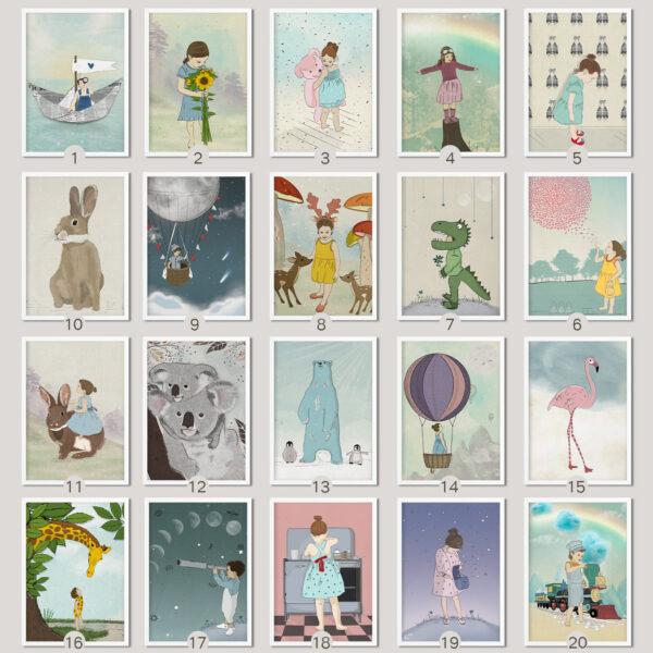 כל הציורים לבחירה עם מסגרת