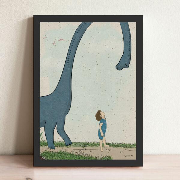 ציור דינוזאור