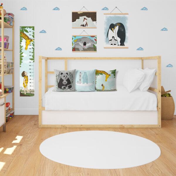חבילת עיצוב לחדר ילדים חיות