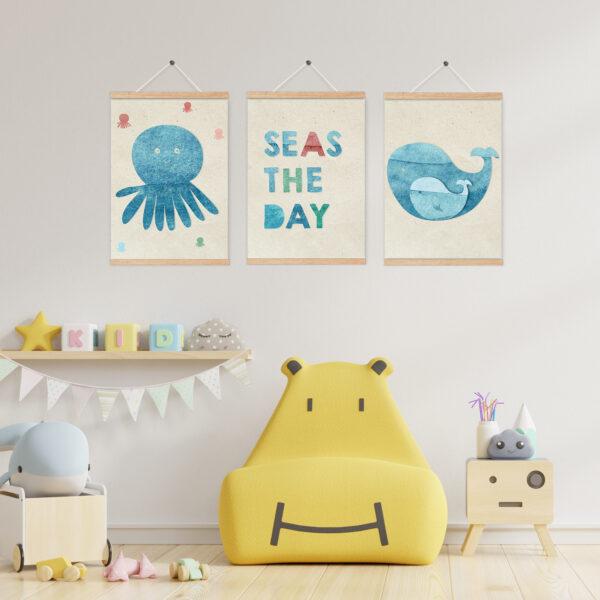שלישית תמונות לעיצוב חדרי ילדים – ים