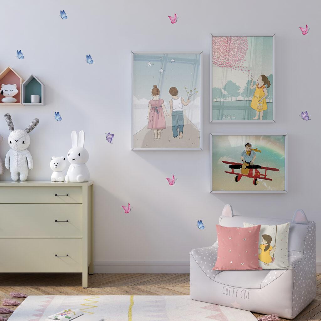 חבילת עיצוב לחדרי ילדים